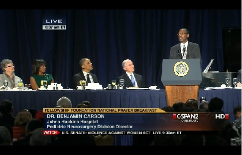 Jason Hines: I Admire Ben Carson, But . . . That Speech!
