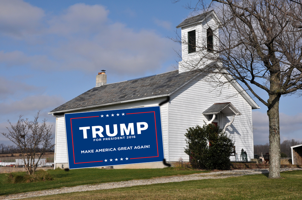 Trump promises to repeal ban on church campaigning in GOP acceptance speech